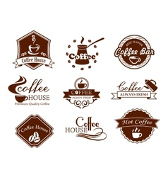 Coffee posters and banners set vector image vector image