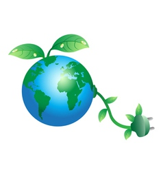 Environmental Conscious vector image vector image
