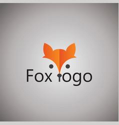 fox ideas design graphic vector image
