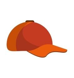 Isolated baseball hat design vector