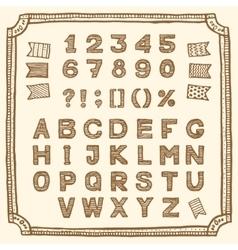 Sale font vector