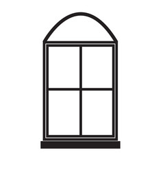 Windows icon on white background windows sign vector