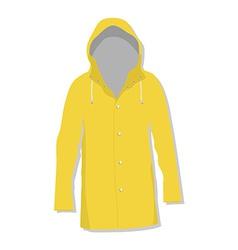 Rain coat vector