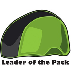 Leader of the pack vector