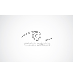 Good vision icon vector image vector image