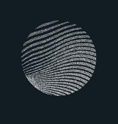Monochrome printing raster abstract vector