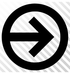 Direction right icon vector