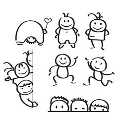Kids doodle vector