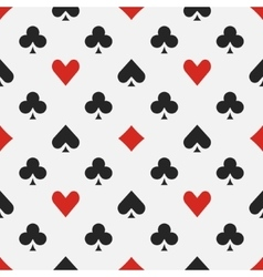 Elegant poker pattern vector