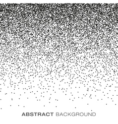 Abstract Gradient Halftone Dots Background vector image vector image