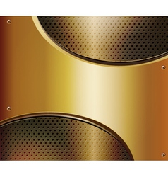 abstract metallic background vector image