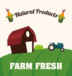 farm fresh vector image