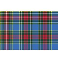 Macbeth tartan kilt fabric textile check pattern vector