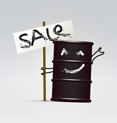 Oil global sale vector
