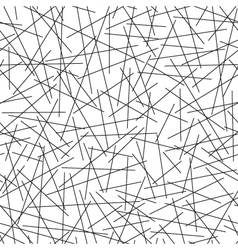 Seamless pattern of random lines vector image
