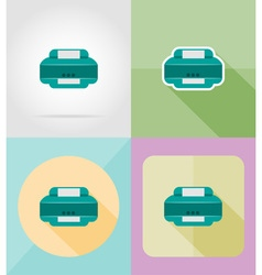 Service flat icons 26 vector