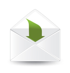 Incoming Mail vector image