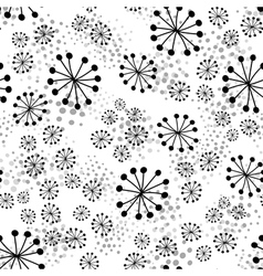Abstract dotted seamless pattern vector