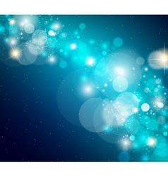 abstract glowing glare vector image