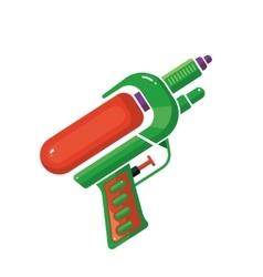 Cartoon of Water Gun vector image vector image