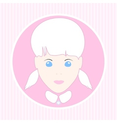 European girl vector