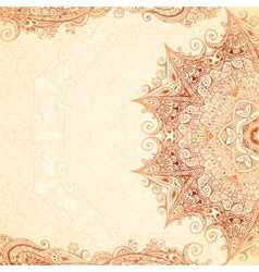 Vintage hand-drawn background vector