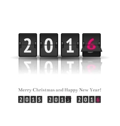 New year countdown vector image