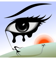 Eye in the sky vector