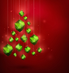 Merry Christmass and Happy New Year abstract vector image vector image