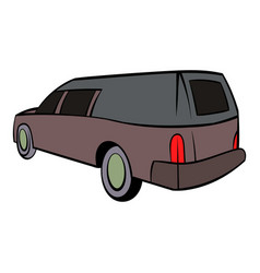 Hearse icon icon cartoon vector