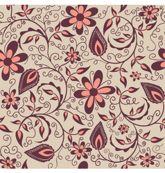 Flower pattern element vector