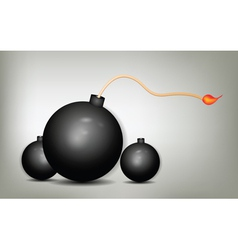 bombs vector image vector image