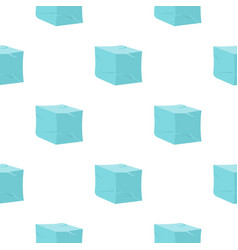 Ice pattern flat vector