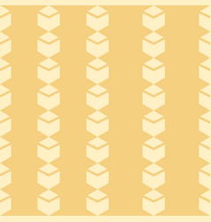 Rectangular prism repeating seamless pattern style vector