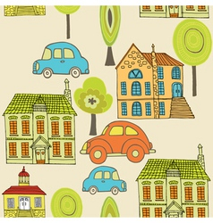 neighbourhood pattern vector image