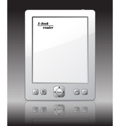 Ebook reader vector