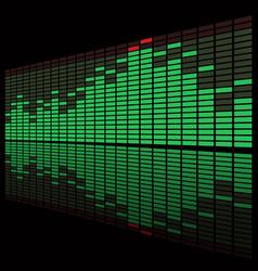 Equalizer Display vector image