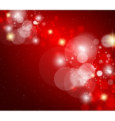 Abstract glowing glare vector