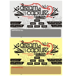 Background pamphlet art vector