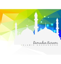 Beautiful islamic background vector