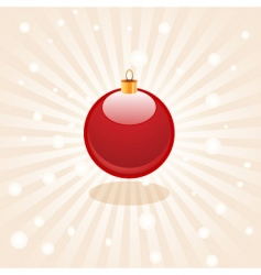 bauble vector image