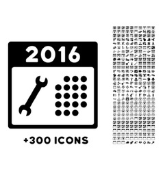2016 service binder icon vector