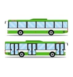 city transit shorter distance bus vector image