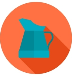 Oil jug vector