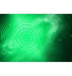 abstract green spiral vector image