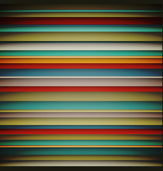 abstract wallpaper with horizonta lines colorful vector image vector image