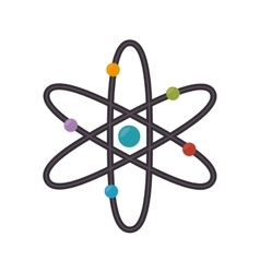 atom chemical element vector image