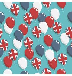british balloons vector image