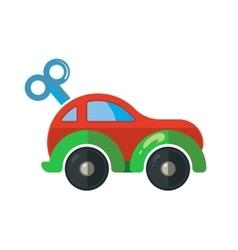 clockwork little car for vector image vector image