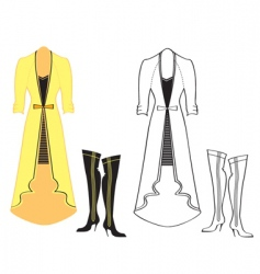 clothes special vector image